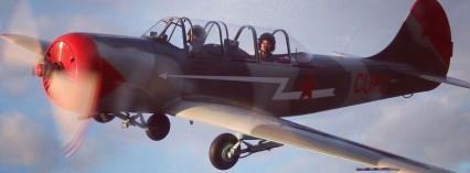 Åk med i aerobatic-flygplan
