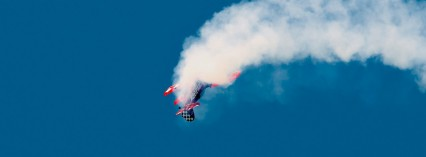 Flyg Aerobatic Flygplan