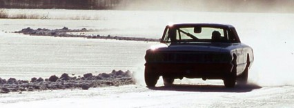 Kör historisk rallybil